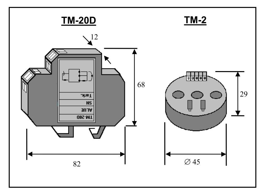TM-2/20D 2-JOHDIN LÄMPÖLÄHETTIMET Image